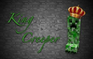 Minecraft - King Creeper by unusual229