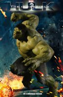 The Incredible Hulk sequel movie poster by DComp