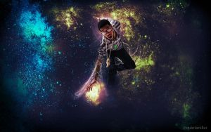 Kid Cudi Wallpaper by azul-dream