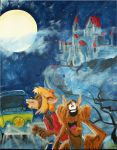 Scooby Doo: Howl Of The Reluctant Werewolf by scoobykeys