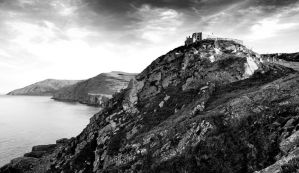 Torr Head BW by younghappy