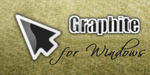 Graphite cursors by teft
