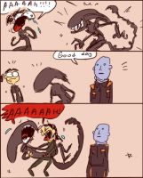 Alien: Isolation, doodles 2 by Ayej