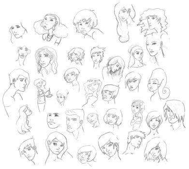 More Faces by RustedAngel7