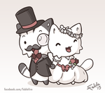 131213 A Kitty Wedding by fablefire
