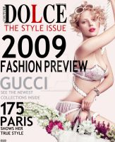 Dolce Couture Magazine Mock Up by BloodAppleKiss