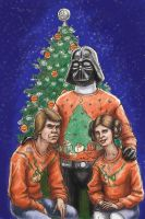 Star Wars Awkward Family Photo by kozick