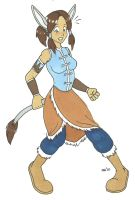 Korra donkey TF by cqmorrell