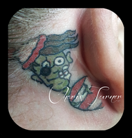 Zombie Waldo Tattoo by Metacharis