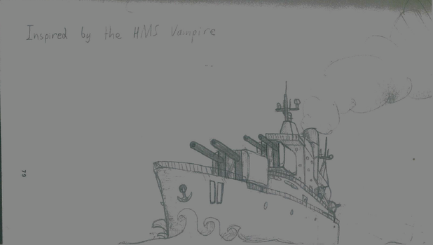 Inspired By HMS Vampire by netherpirate