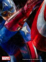 Marvel - The Avengers - Captain America by thephoenixprod
