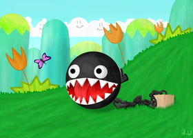 Chain Chomp by happycamper4027