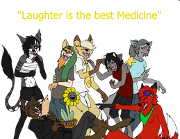 Laughter is the best medicine by Fungicaprafelipodae