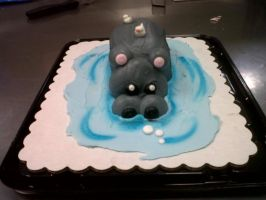 Hippo Critter by AingelCakes