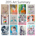 2015 Art Summary by mellocat