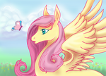 fluttershy by mechanicalmasochist
