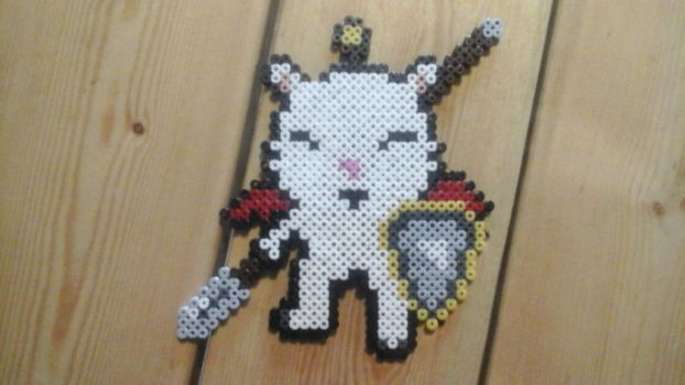 Kupo with weapon Perler by actionprime