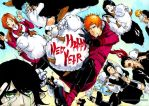 BLEACH: Happy New Year by Sideburn004