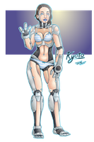 MG: Kyoto the Android! by Blabyloo229