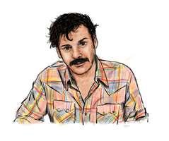 julian barratt by dngrmouse