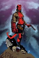 Hellgirl Colors By  Trinity Mathews by NewEraStudios