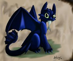 Toothless by Cattensu