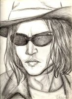 Sunglasses and a Cowboy Hat by depplosion