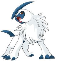 Absol - Does he look mad? by Sajirou