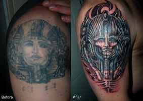 pharaoh cover up by devilsarm