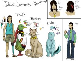 BSC: Dave with Pokemon Ref by FeatheredDragon