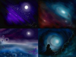 Different Universes by Hevimell