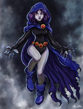 Raven - 02 by TheLivingShadow