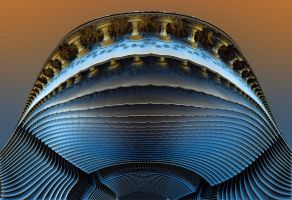 Nautilus Fractalis - section by Vidom
