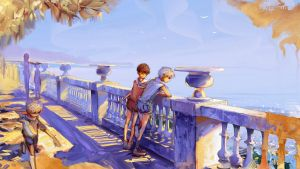 Seafront by Hangmoon