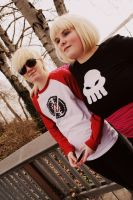 HOMESTUCK-Dave and Rose by SNCcosplay