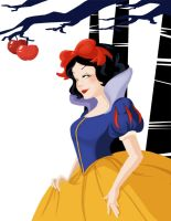 Snow White Fan art by GenevieveFT
