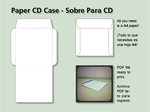 Paper CD Case - Sobre para CD by Juliannb4