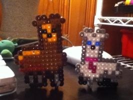 Bead Llamas by Nyaru-Beta
