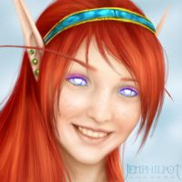 Commission: Lilyth Portrait by jocarra