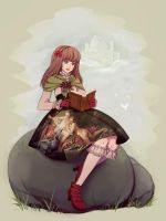 storybook girl by tea-and-dreams