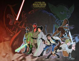 Star Wars by splendidriver