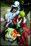 Demonic brothers {{ Ao No Exorcist cosplay }} by Kawaii-Lero