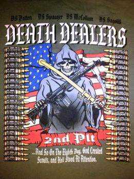 2nd Platoon - Death Dealers - T-Shirt by x-SkaiGuardian-x