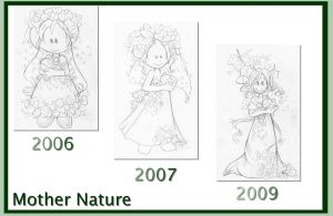 Mother Nature Progress by bchan