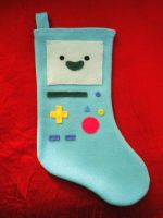 BMO Stocking by Red-Flare