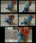 Wonderbolt Rainbow Dash custom by Busoni