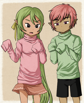 Sweater Color Swap by Icy-Snowflakes