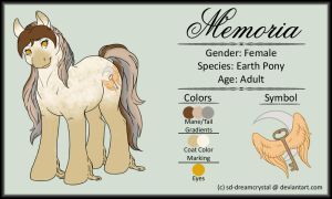 MLP Ref: Memoria by SD-DreamCrystal