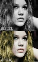 Joss Stone before and after by frozenmistress