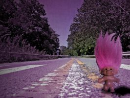 Traveling Troll by frotton